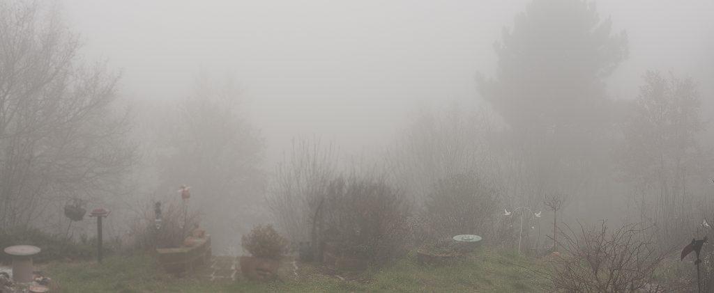 Nebel, nichts als Nebel